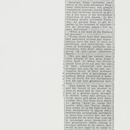 Clipping : 1939 April 29