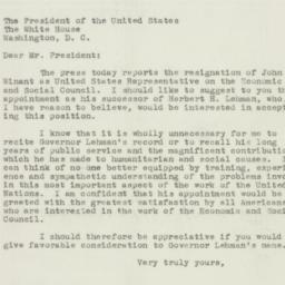 Letter : 1947 January 3