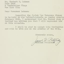 Letter : 1948 February 9