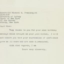 Letter: 1958 April 12