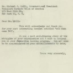 Letter : 1950 February 27