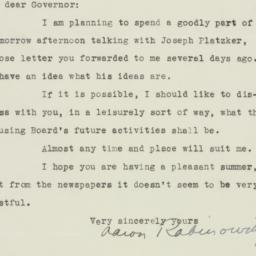 Letter : 1935 August 7