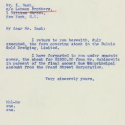 Letter : 1940 July 3