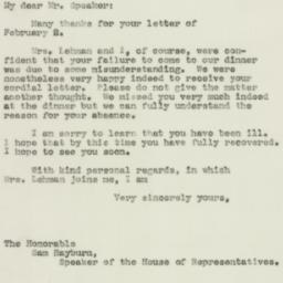Letter : 1944 February 5