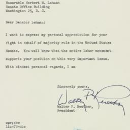 Letter : 1954 February 9