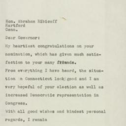 Letter : 1954 July 3