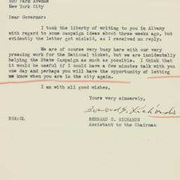 Letter : 1936 October 10