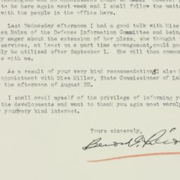 Letter : 1941 August 20