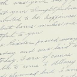 Letter : 1935 January 27