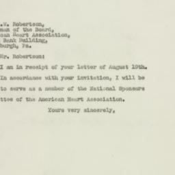 Letter : 1948 August 24
