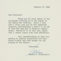 Letter : 1947 January 27