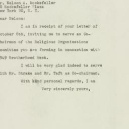 Letter : 1948 October 8