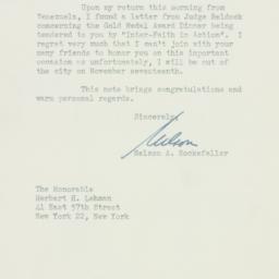 Letter : 1948 October 28