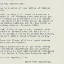 Letter : 1956 November 1