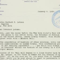 Letter : 1939 January 9