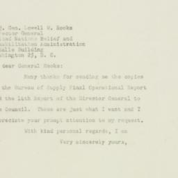 Letter : 1948 August 5