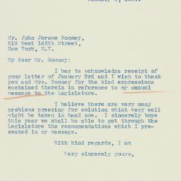 Letter : 1934 January 6