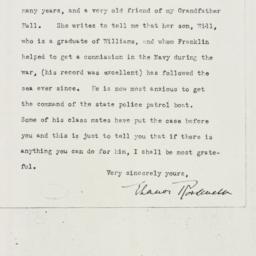 Letter: 1930 April 28