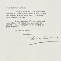 Letter : 1933 March 23