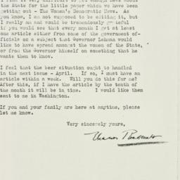 Letter : 1933 April 10