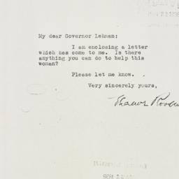 Letter: 1935 November 20