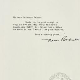 Letter: 1937 April 6