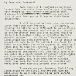 Letter: 1939 May 9
