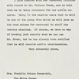 Letter: 1943 October 18