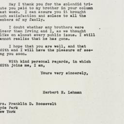 Letter: 1945 October 3