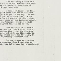 Letter: 1946 December 3