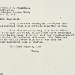Letter: 1947 February 8