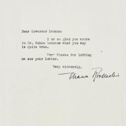 Letter: 1947 February 11