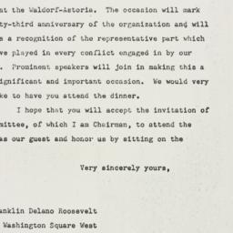 Letter: 1948 February 11