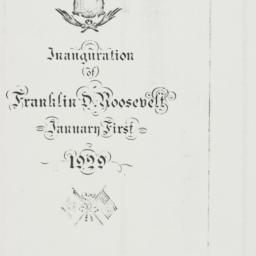 Ephemera : 1939 January 1