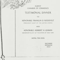 Ephemera : 1932 December 15
