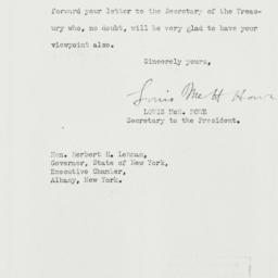 Letter: 1933 March 20