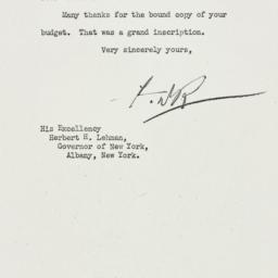 Letter: 1934 January 26