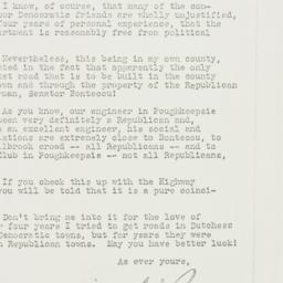 Letter: 1935 January 18