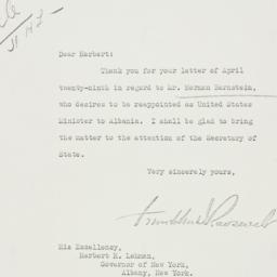 Letter: 1935 May 3