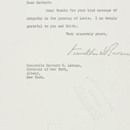 Letter: 1936 April 28