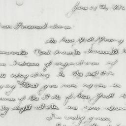 Letter: 1936 June 27