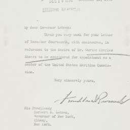 Letter: 1936 December 16
