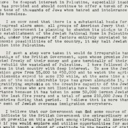 Letter: 1938 October 10