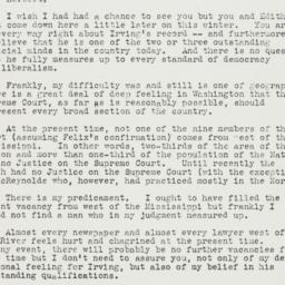 Letter: 1939 January 16