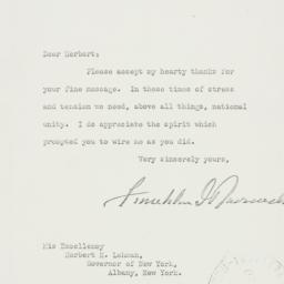 Letter: 1939 September 25