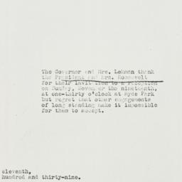 Note: 1939 November 11