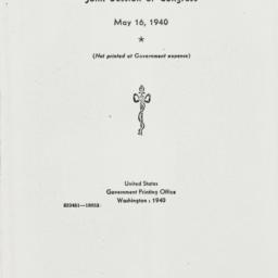 Ephemera : 1940 May 16