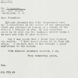 Letter: 1940 May 17