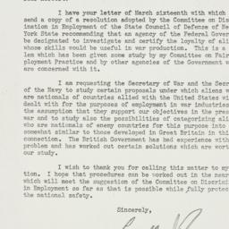 Letter: 1942 March 25