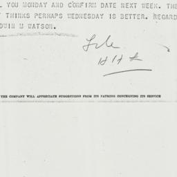 Telegram: 1942 November 5